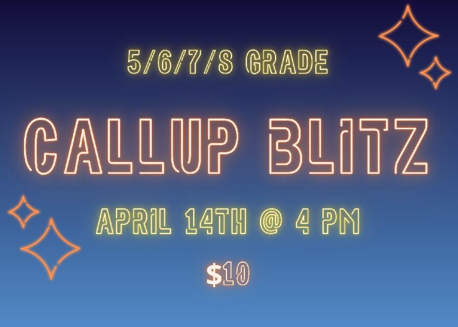 Call Up Blitz