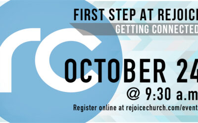 First Step – October 24th